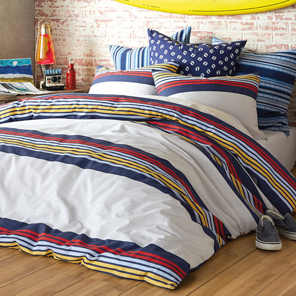 Hang Ten Ocean Beach Duvet and Sham Set