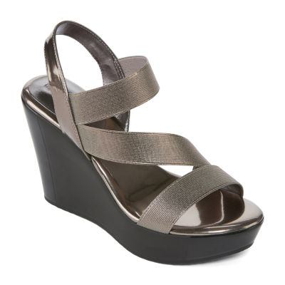 Style Charles Fitch Womens Wedge Sandals