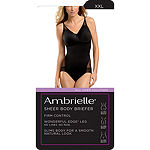Ambrielle Sheer Wonderful Edge® Firm Control Body Shaper - 129-2003