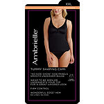 "Ambrielle No ""Side-Show"" Waist Shaping Tank Shapewear Camisole-129-3047"