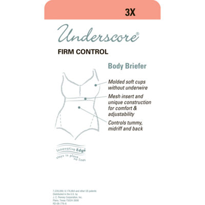 Underscore Plus Innovative Edge® Wireless Firm Control Body Shaper - 129-3053
