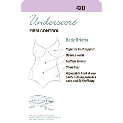 Underscore Innovative Edge® Firm Control Body Shaper - 129-3602