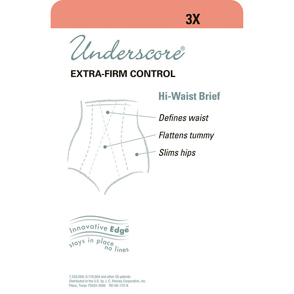 Underscore Innovative Edge® High-Waist Extra Firm Control Control Briefs 129-3603