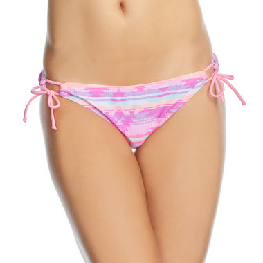 Arizona Abstract Hipster Swimsuit Bottom-Juniors