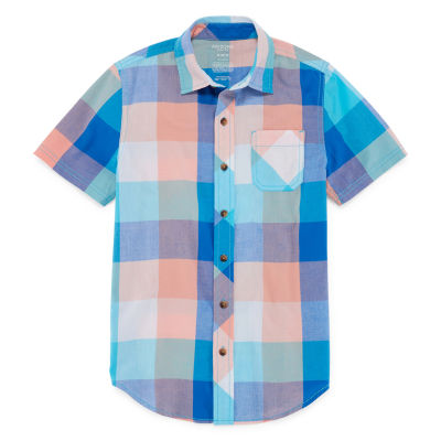 Arizona Short Sleeve Woven Shirt Boys 4-20
