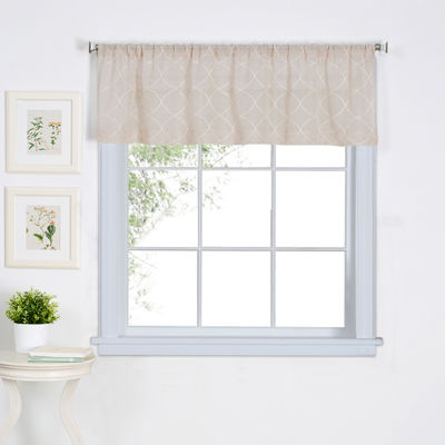 Home Expressions Jameson Rod-Pocket Valance