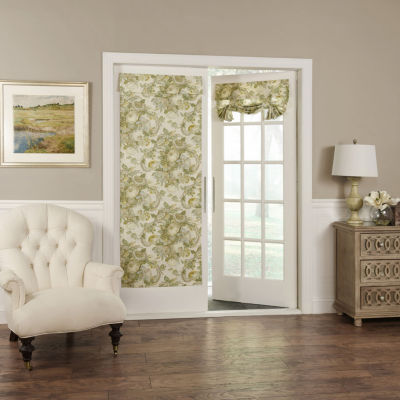 Waverly Spring Bling Rod-Pocket Door Panel Curtain