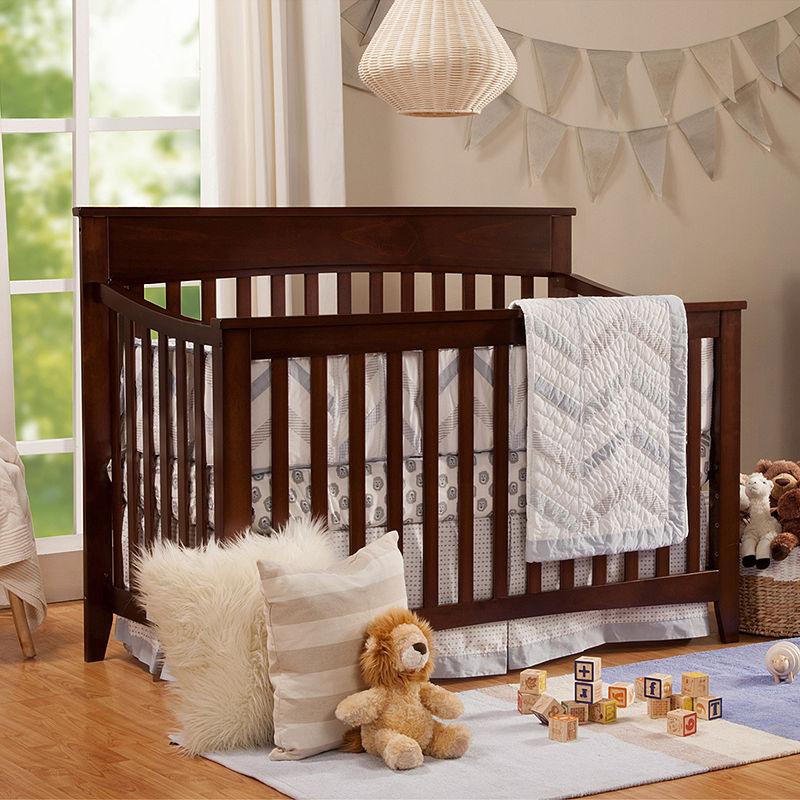 DaVinci Grove 4-In-1 Convertible Convertible Baby Crib, Espresso, Size Full