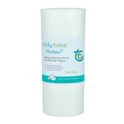 Tidy Tots Flushies Diaper Liners 100ct.