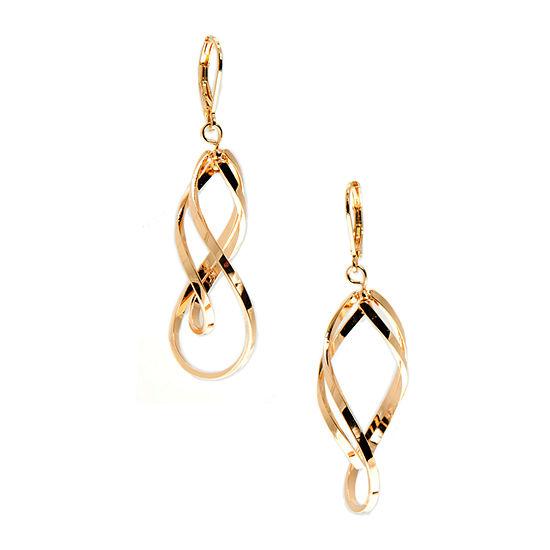 Gloria Vanderbilt 2-pc. Yellow Drop Earrings