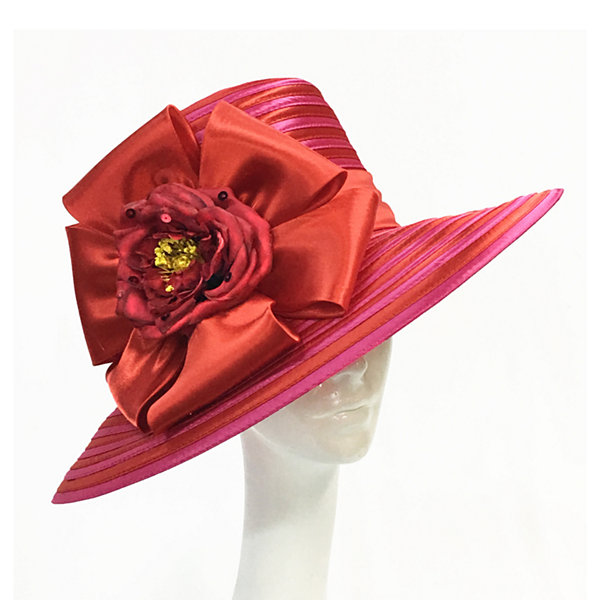 Whittall & Shon Md Brim Derby Hat