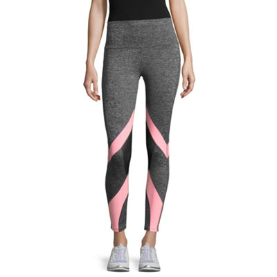 Xersion Jersey High Waisted Leggings - Tall Inseam 27.25""