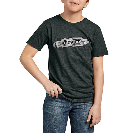 Dickies Boys Crew Neck Short Sleeve Graphic T-Shirt - Big Kid