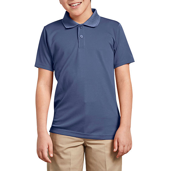 Dickies Boys Spread Collar Short Sleeve Polo Shirt - Preschool