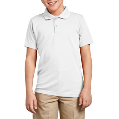 Dickies Short Sleeve Mesh Polo Shirt - Big Kid Boys