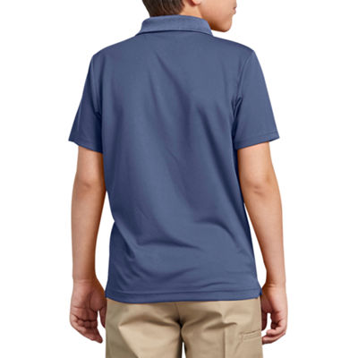 Dickies Easy Care Wrinkle Resistant Short Sleeve Mesh Polo Shirt
