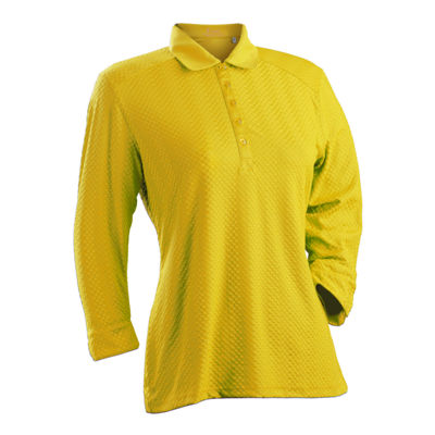 Nancy Lopez Golf Grace 3/4 Sleeve Polo Plus