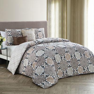 Avondale Manor Greer 5-pc. Reversible Comforter Set