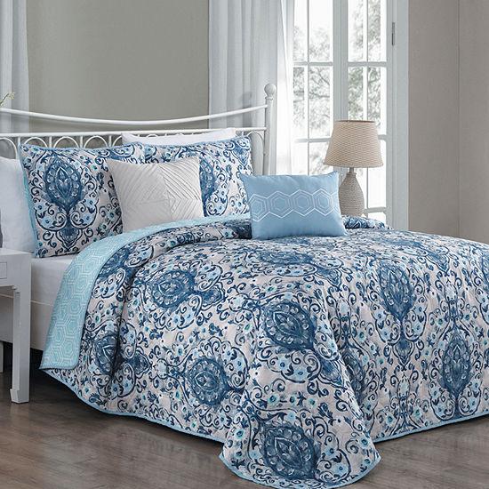 Avondale Manor Trista 5PC Quilt Set