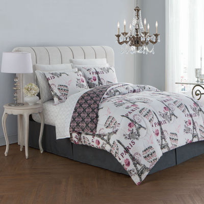 Avondale Manor Darcy 8PC Complete Bedding Set with Sheets