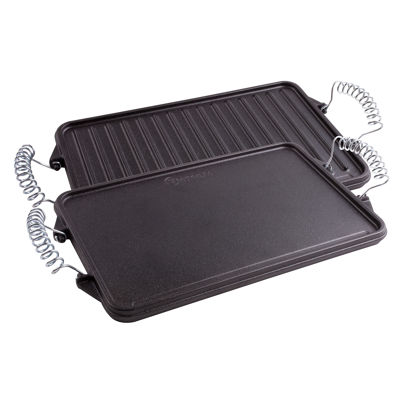 "Victoria 13""X8.3"" Cast Iron Griddle Cast Iron Griddle"
