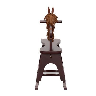 Storkcraft Wooden Rocking Horse