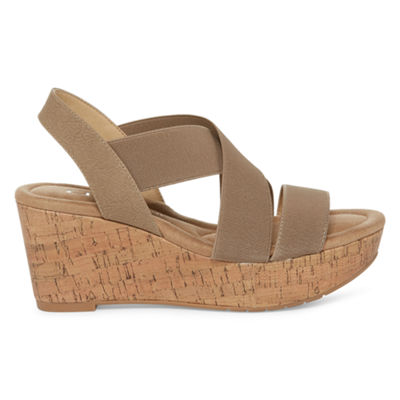 CL by Laundry Dallie Womens Wedge Sandals