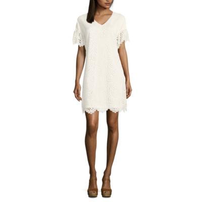 Worthington Lace Shift Dress