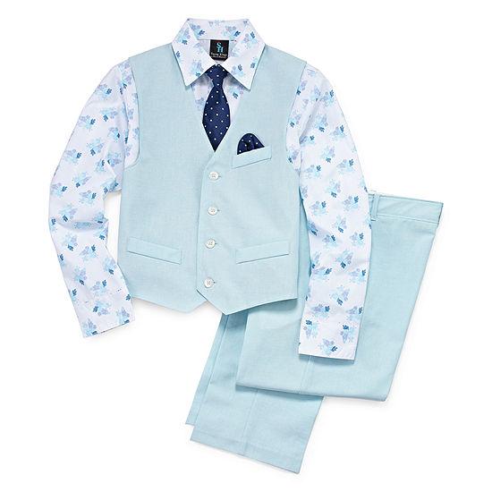 Steve Harvey Boys 4-pc. Suit Set 4-20