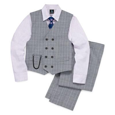 Steve Harvey Boys 4-pc. Suit Set 4-20 - Reg