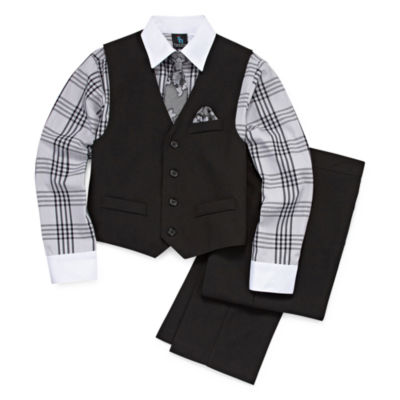 Steve Harvey Boys 4-pc. Suit Set 4-20 - Reg