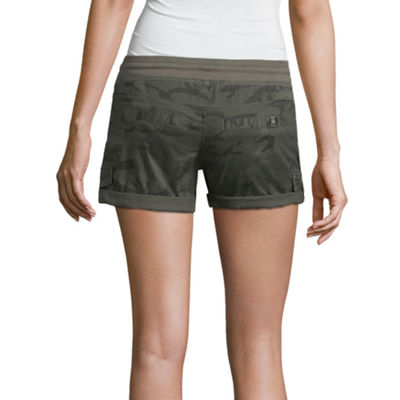 Unionbay Woven Pull-On Shorts-Juniors