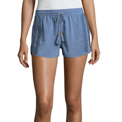 "Rewash 2"" Denim Shorts-Juniors"