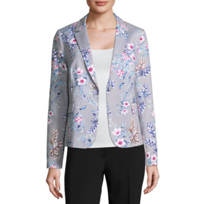 Liz Claiborne Double Cotton Blazer