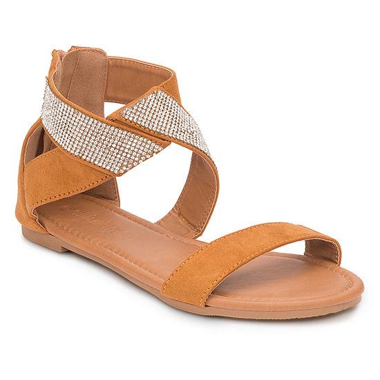34742c25d4f2 Olivia Miller Womens Embellished Strap Sandals - JCPenney