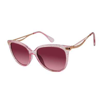 Libby Edelman Full Frame Rectangular UV Protection Sunglasses-Womens