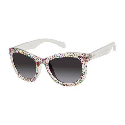 Libby Edelman Full Frame Square UV Protection Sunglasses-Womens