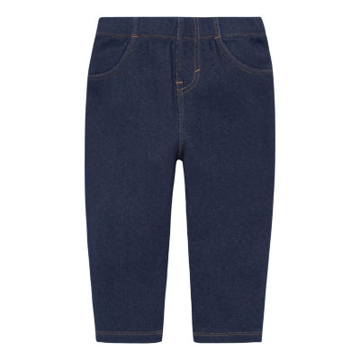Levi's Girls Straight Pull-On Pants - Baby