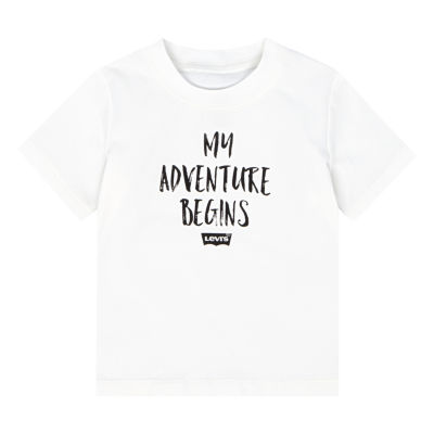 Levi's Short Sleeve Round Neck T-Shirt-Baby Boys