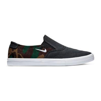 Nike Portmore Ii Mens Slip-on Skate Shoes