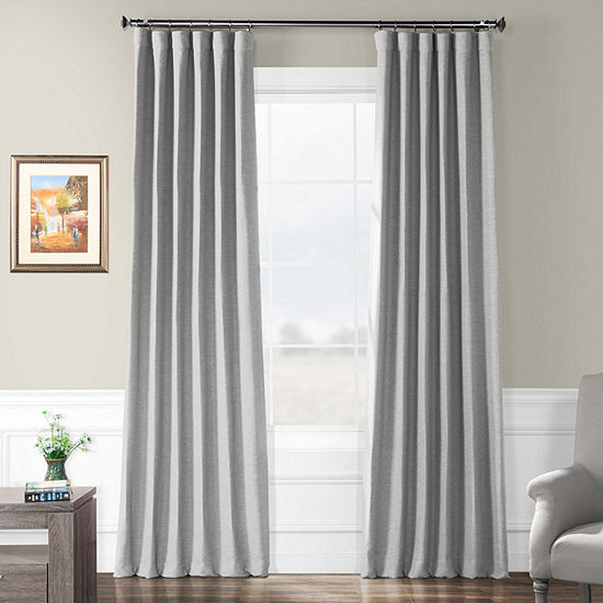 Exclusive Fabrics & Furnishing Bellino Blackout Curtain Panel