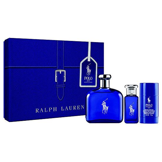 Ralph Lauren Polo Blue 3 Pc Set