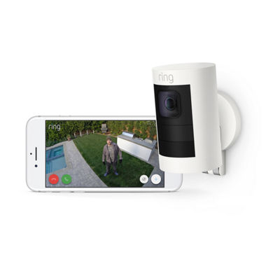 Ring Stick Up Cam Battery Wireless Indoor/Outdoor Security Camera