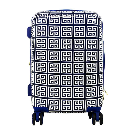 Macbeth Collection By Margaret Josephs Geo 21 Inch Hardside Lightweight Luggage