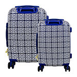 Macbeth Collection By Margaret Josephs Geo 2-pc. Hardside Lightweight Luggage Set
