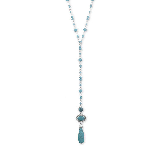 Chaps 22 Inch Y Necklace