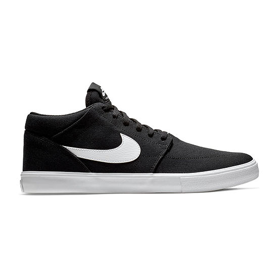 Nike Portmore Ii Mens Lace-up Skate Shoes