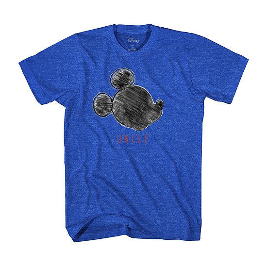 Mens Disney Uncle Graphic T-Shirt