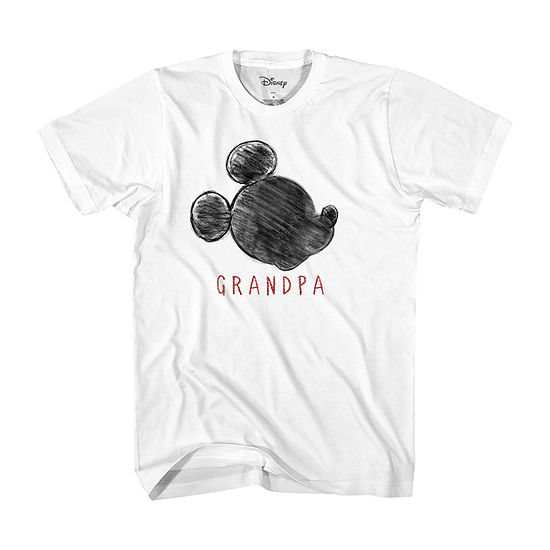 Mens Disney Grandpa Graphic T-Shirt