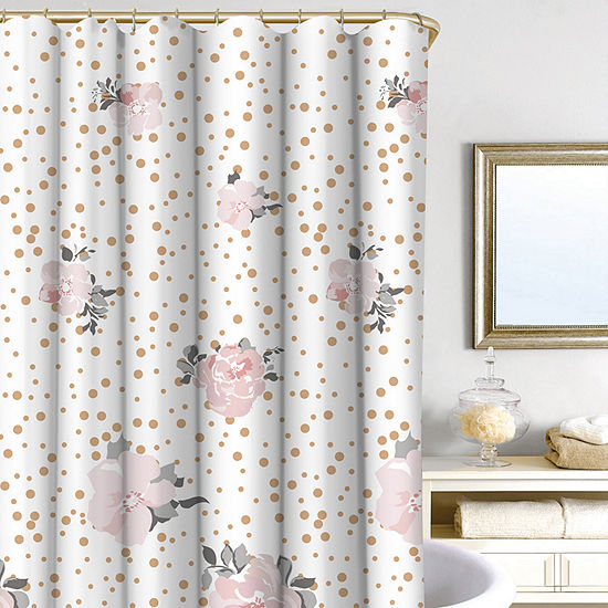 Homewear Confetti Floral 14-pc Shower Curtain Set